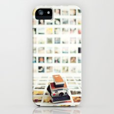 Polaroid Wall iPhone (5, 5s) Slim Case