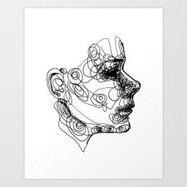 Cyclical  Art Print