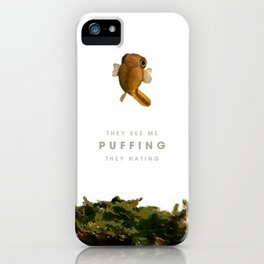 Puffing iPhone Case
