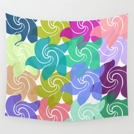 Spring Time Spinners Wall Tapestry