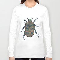 beetle Long Sleeve T-shirts featuring Beetle by MSRomeiro