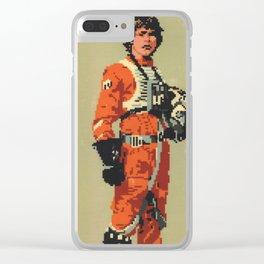 Luke Skywalker Clear iPhone Case