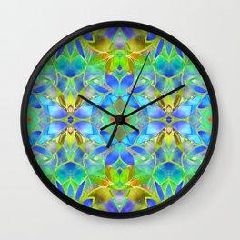 Floral Fractal Art G20 Wall Clock