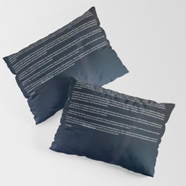Pale Blue Dot — Voyager 1 (2020 rev.), quote Pillow Sham