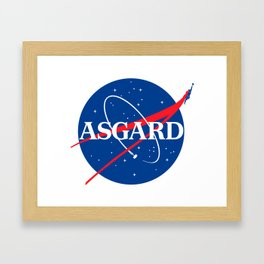 Asgard Insignia Framed Art Print