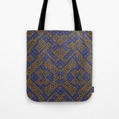 Blue Tribe Tote Bag