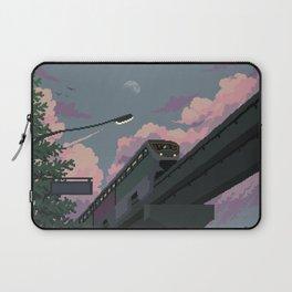 Moonrise Train Laptop Sleeve
