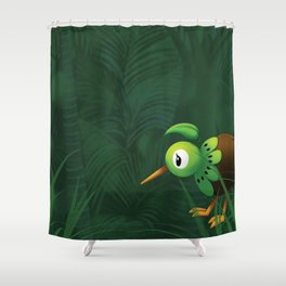 Lost in Godzone Shower Curtain