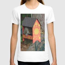 Sunshine Squirrel House T-shirt