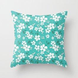 Torque Floral Throw Pillow