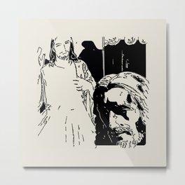 2 Gesù Metal Print