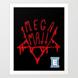 MEGAMATT LOGO Art Print