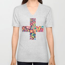 All the Pretty Colors Unisex V-Neck