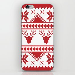 Christmas Sweater iPhone Skin