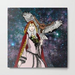 Nature Goddess Metal Print