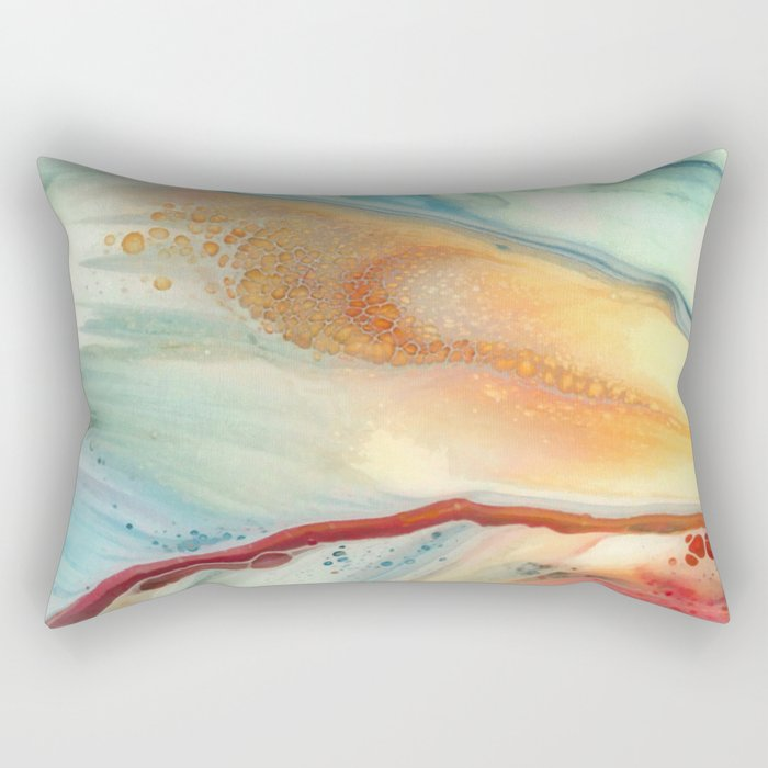 Colorful abstraction Rectangular Pillow