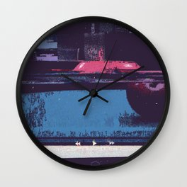 Game of Billiards Wall Clock