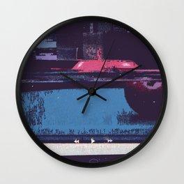 Game of Billiards Wall Clock