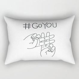 #GoYou Rectangular Pillow