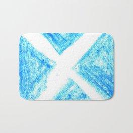 flag of scotland 7– scotland,scot,scottish,Glasgow,Edinburgh,Aberdeen,dundee,uk,cletic,celts,Gaelic Bath Mat