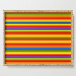 Colour Line Stripes 549 Serving Tray