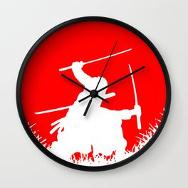 One Piece Zoro Wall Clock