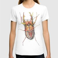 beetle T-shirts featuring Beetle by Cherry Virginia