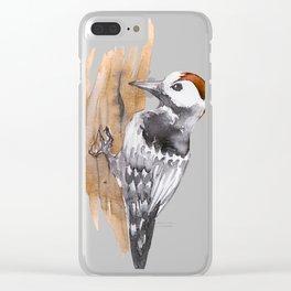 Winter Bird Series Part 1 Clear iPhone Case