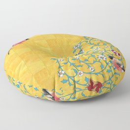 Persian Illustration Floor Pillow