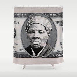 Harriet Tubman Twenty Dollar Bill Shower Curtain