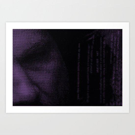 Hovedfokus Art Print