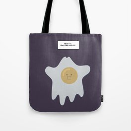 that is the EGG-spirit Tote Bag