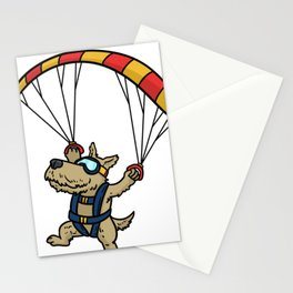 Skydiving Parachute Gift Sky Jump Stationery Cards