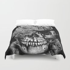 Snake and Skull Duvet Cover