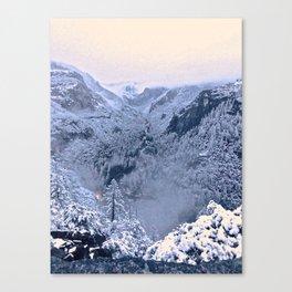 Yosemite Valley II Canvas Print