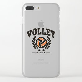 Volley Clear iPhone Case