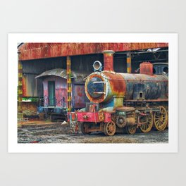 gran machina Art Print