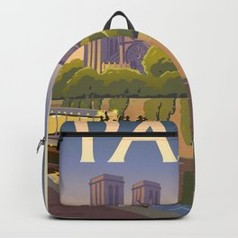 Vintage poster - Paris Backpack