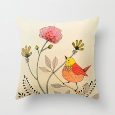 la belle vie Throw Pillow