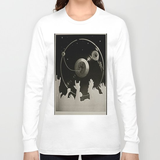 """Side B: """"Out There"""" Long Sleeve T-shirt"""