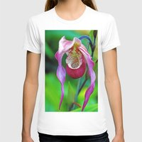 orchid T-shirts featuring Orchid by Trevor Jolley