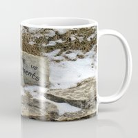 poland Mugs featuring Peace in Poland by Anything et Everything by Nina L.