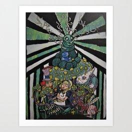 Alice Takes a Nap Art Print