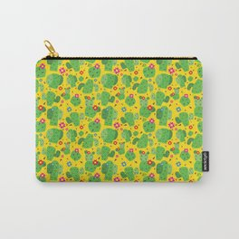 Cactus Me Outside (Yellow) Carry-All Pouch
