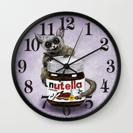 Sweet aim // galago and nutella Wall Clock