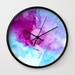 Liquid Love Wall Clock