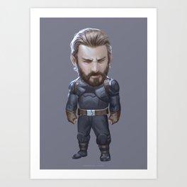 Capt Art Print