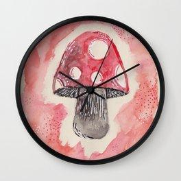 toadstool Wall Clock