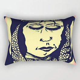 Peaceful Native American - Rectangular Pillow