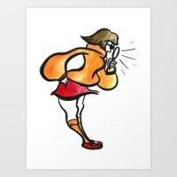Velma Art Print